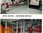 Hôtel Novotel - Chaufferie Centrale